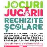 Campanie colectare jucării pentru copiii victimelor violenței domestice