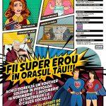 Campania Fii super-erou în orașul tău!